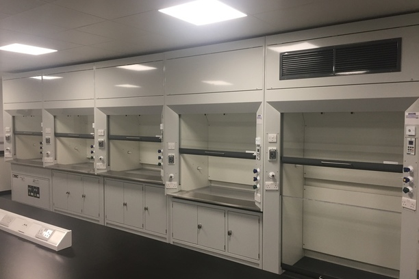 Ducted fume cupboards by DSS